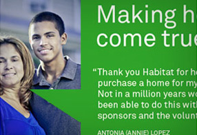 Habitat for Humanity CFC Website