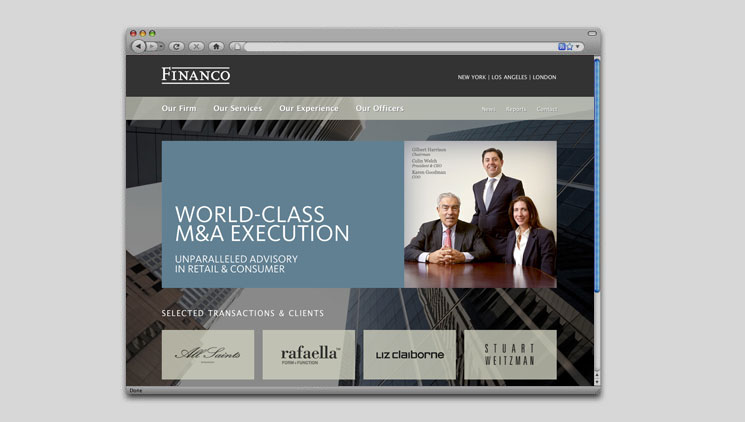Financo Website